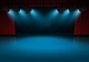 Stage-Spotlights-Background
